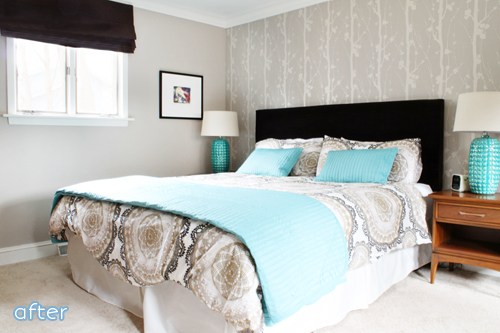 See this calming master bedroom makeover at betterafter.net