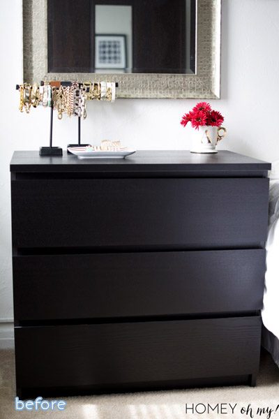 Love this classy campaign dresser makeover at betterafter.net