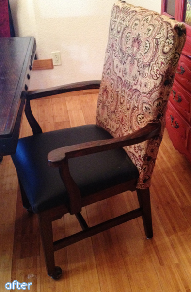 Don't miss this polished farmhouse dining table and chairs makeover at betterafter.net