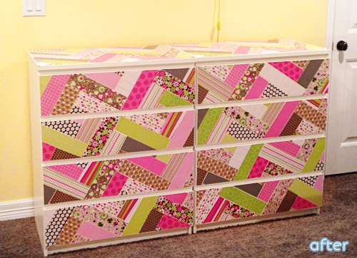 "If you like ""quilted"" makeovers, you won't want to miss these dresser and chest makeovers!"