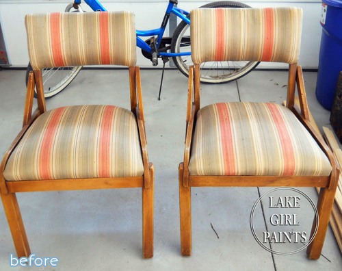Chairs galore! Don't miss out these three different yet beautiful chair makeovers at betterafter.net