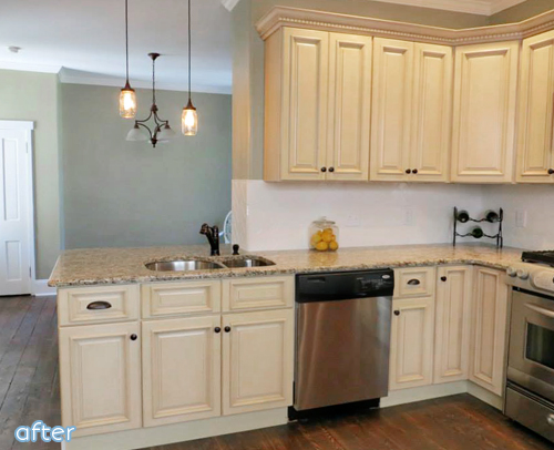 Don't miss this gorgeous kitchen makeover at betterafter.net