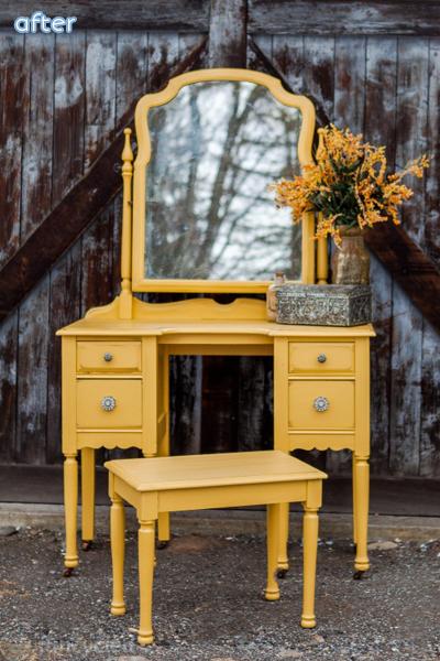 mustard_yellow_vanity_makeover