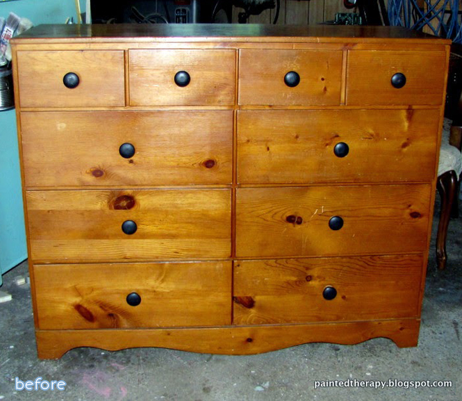 An adorable airplane dresser makeover at betterafter.net