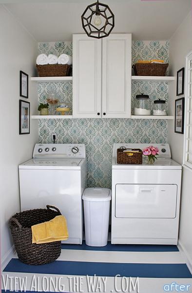 Kelly's laundry room makeover | betterafter.net