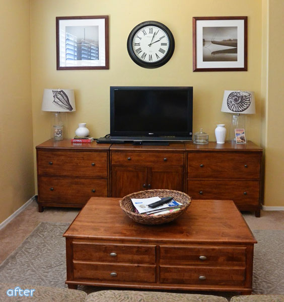 simple sitting area makeover | betterafter.net