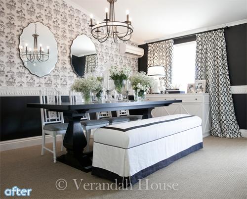 Verandah House dining room makeover | betterafter.net