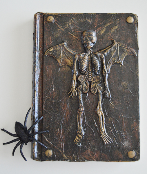 Halloween Book Cover Ideas ~ Altered halloween books tutorial new and improved