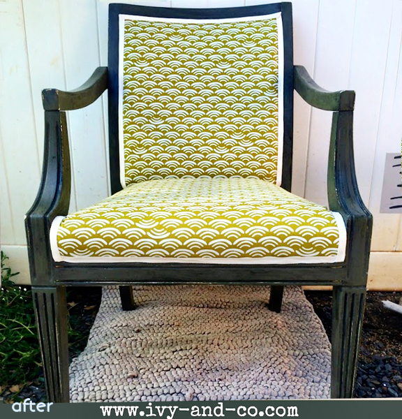 antique - scalloped - chair superpost | betterafter.net