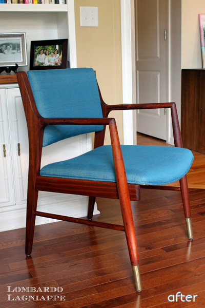 blue - midcentury -chair superpost | betterafter.net