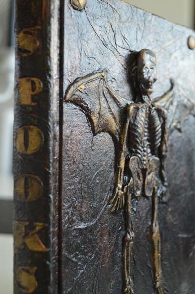 halloween book closeup