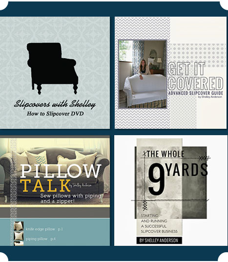 shelley slipcover products