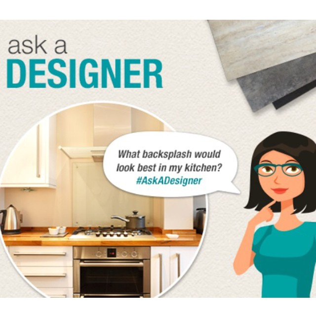 I'm excited to be one of the featured designers this week at BuildDirect.com. Come on over and ask me your deepest darkest most burning design questions. ???