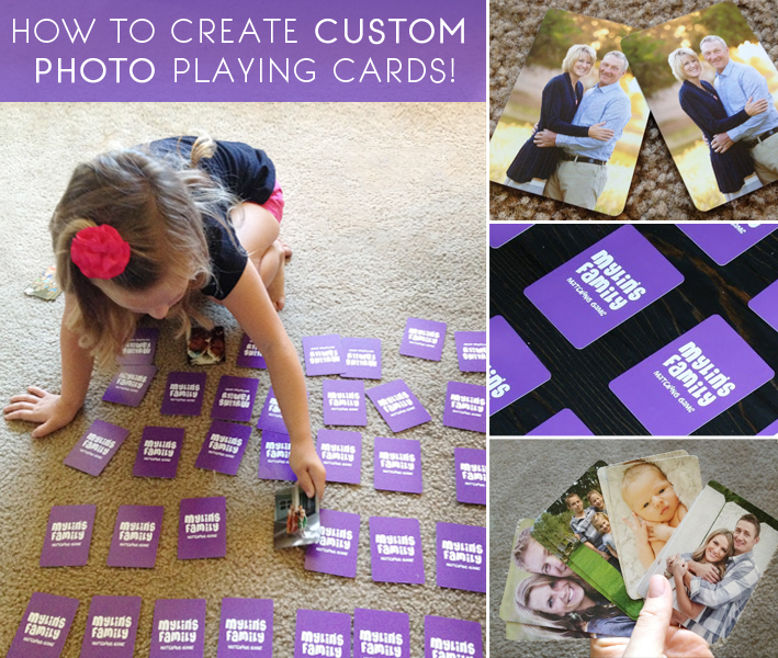 Create custom photo playing cards! Great gift idea. | betterafter.net