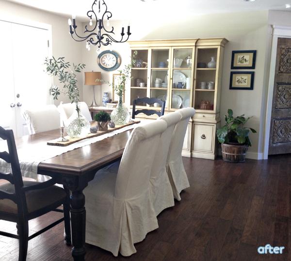 White - Farmhouse - Dining Room - Makeover | betterafter.net