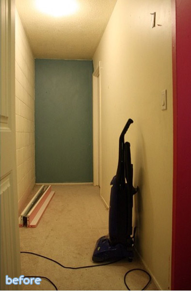 bedroom closet makeover before
