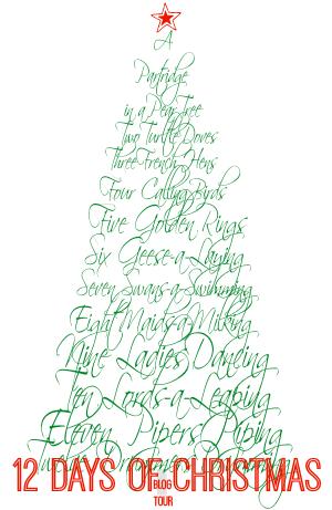 12 Days of Christmas Blog Tour button