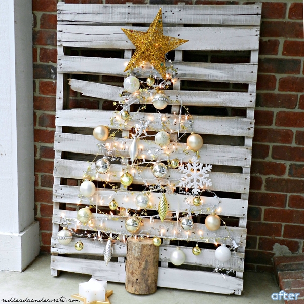 Pallet-Christmas-Tree-Makeover|betterafter.net