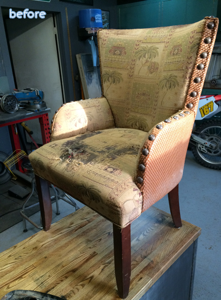 sad - palm tree- chair - before