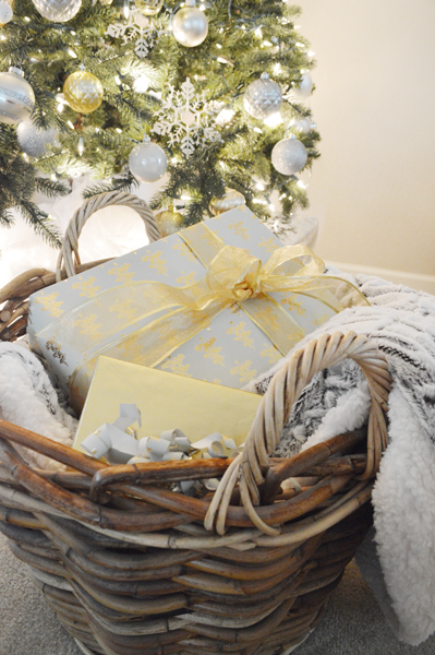 basket with gifts