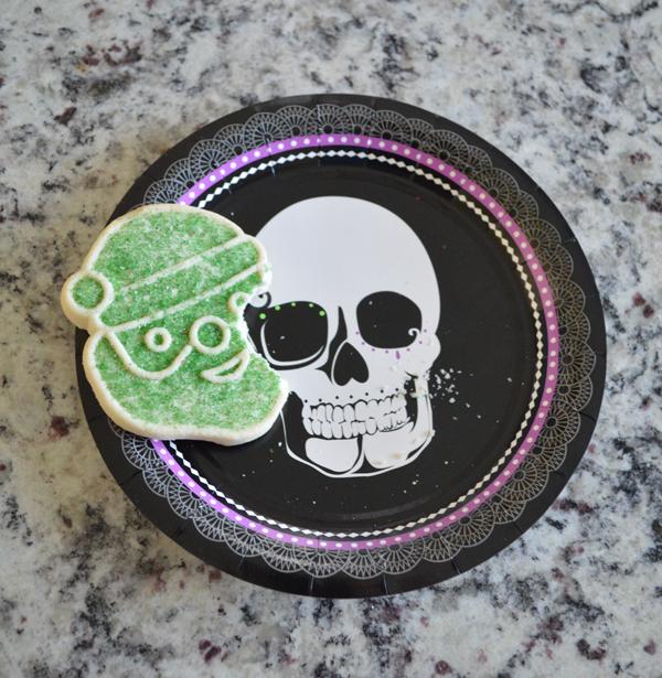 christmas halloween cookie