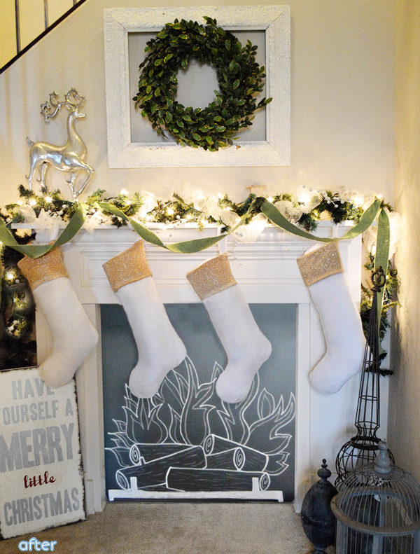 christmas mantle after copy