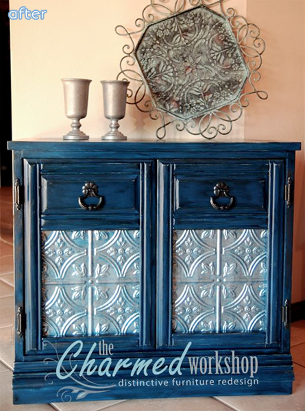 metal tin cabinet