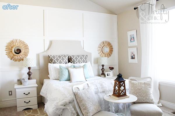 White- Board Batten - Bedroom - Makeover | betterafter.net