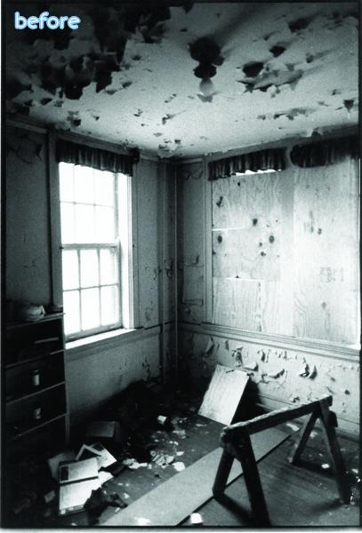 Church - Blue Room - Before