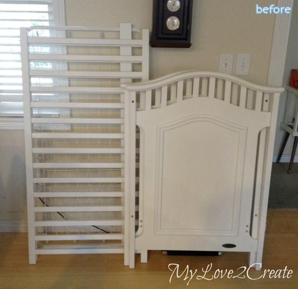 White Crib - before