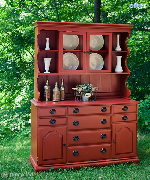 Hutch - Red - Makeovers |betterafter.net