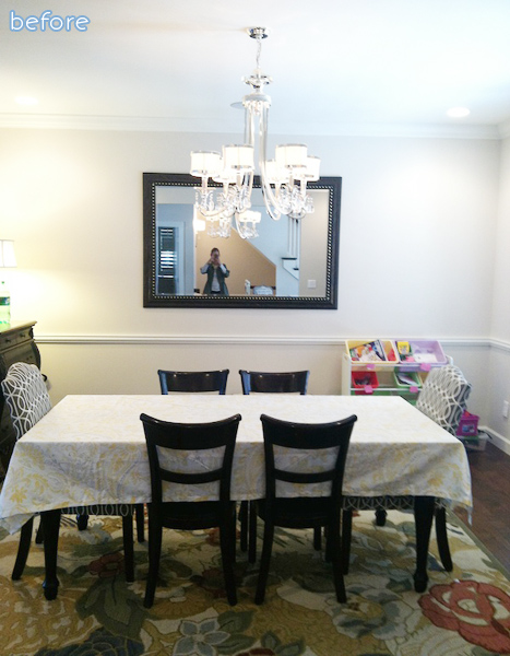 White - Dining Room - Before
