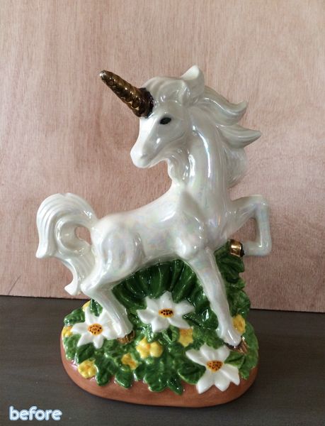 unicorn statue before |betterafter.net