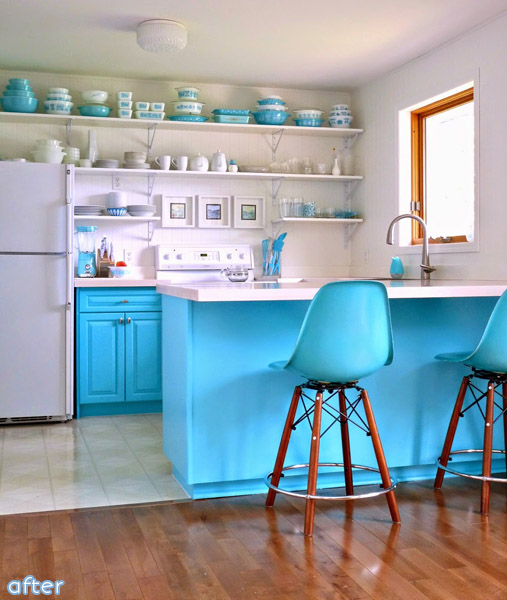 white_aqua_kitchen_makeover
