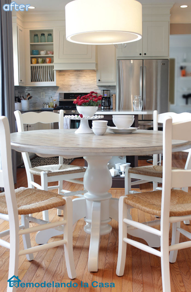 White - Kitchen Table - Chairs - Makeover | betterafter.net