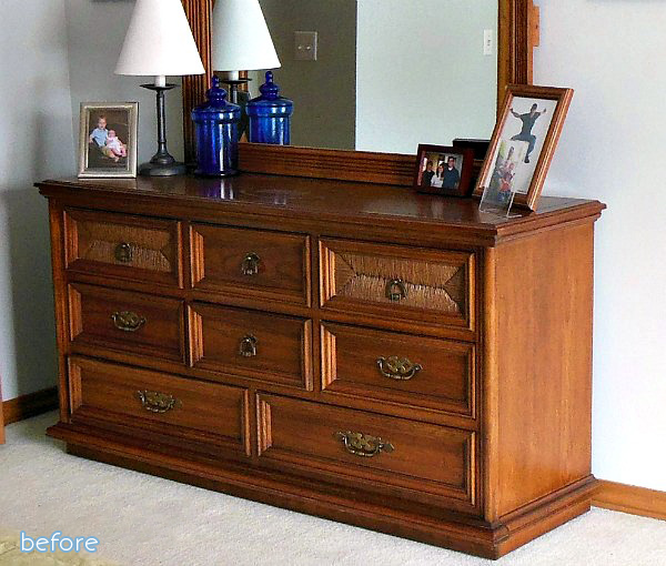 Wood - Dresser - Before