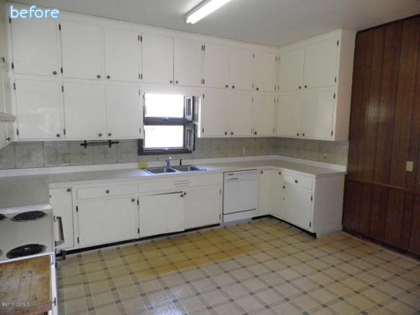 White - Cabinets - Kitchen - Before
