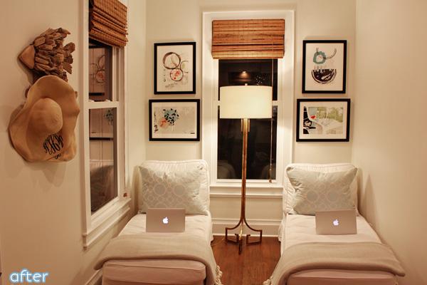 White Kitchen - Reading Nook - Makeover |betterafter.net