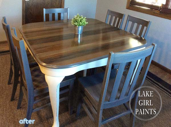 Nice Dining Room Table Makeover. Chester Tile Top ... Part 30