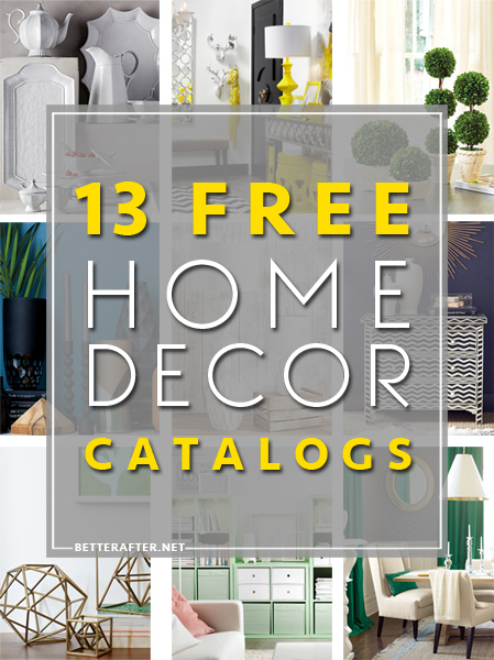 free home decor catalogs pin