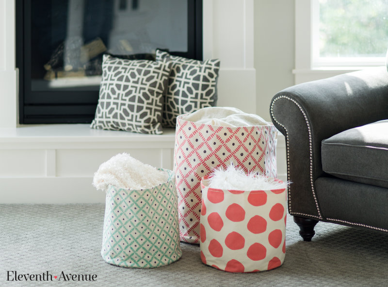Fabric Baskets - Eleventh Avenue(1)