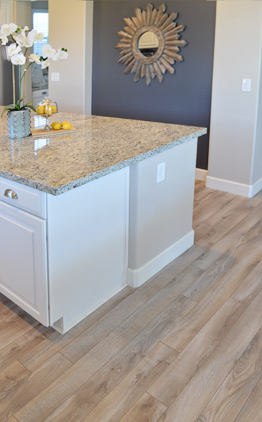 kitchen flooring driftwood laminate