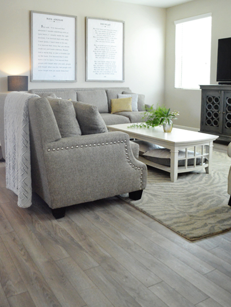 living room driftwood floor