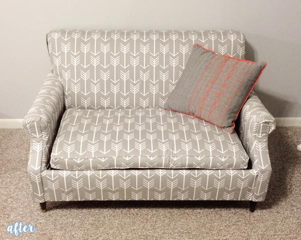 Gray Arrow Couch   betterafter.net