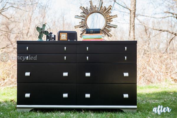 FunCycled Black Dresser | betterafter.net