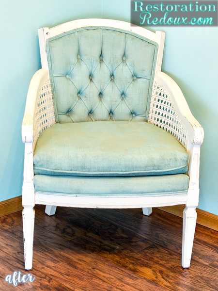 cream-aqua-cane-armchair-makeover