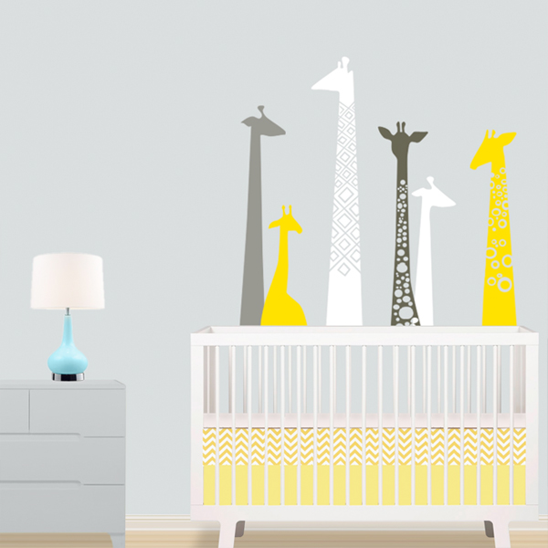 Good lulukuku giraffe decals