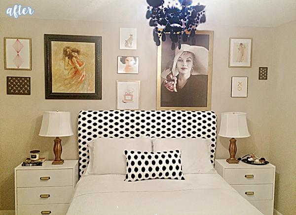 studio bedroom makeover