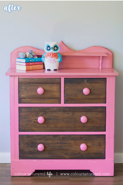 coral two tone dresser mak copy