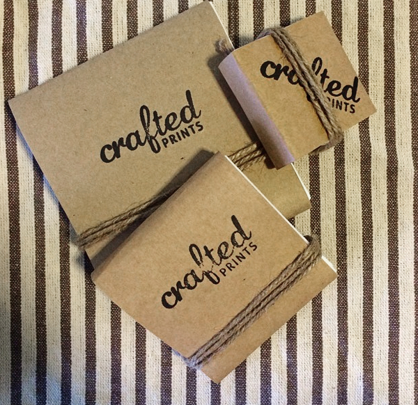 crafted prints packaging